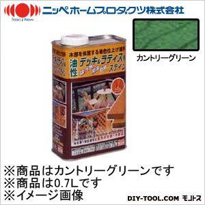 ニッペホーム 油性デッキ&ラティス用(アルキド樹脂塗料) カントリーグリーン 0.7L 09