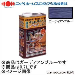 ニッペホーム 油性デッキ&ラティス用(アルキド樹脂塗料) ガーディアンブルー 0.7L 10