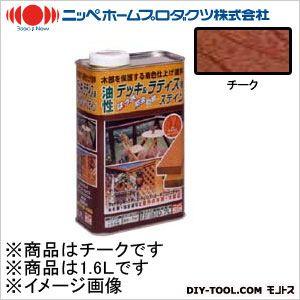 ニッペホーム 油性デッキ&ラティス用(アルキド樹脂塗料) チーク 1.6L 03