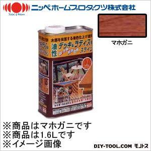 ニッペホーム 油性デッキ&ラティス用(アルキド樹脂塗料) マホガニ 1.6L 04