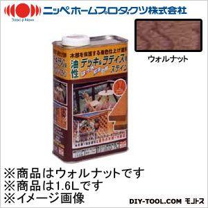 ニッペホーム 油性デッキ&ラティス用(アルキド樹脂塗料) ウォルナット 1.6L 06