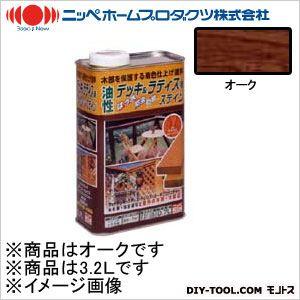 ニッペホーム 油性デッキ&ラティス用(アルキド樹脂塗料) オーク 3.2L 05