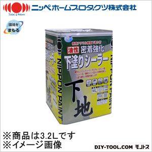 油性密着強化下塗シーラー 透明 3.2L
