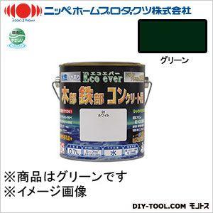ニッペホーム 水性エコエバー グリーン 0.7L 35