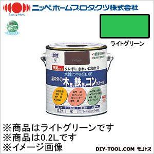 水性つやありEXE ライトグリーン 0.2L 14