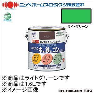 水性つやありEXE ライトグリーン 1.6L 14