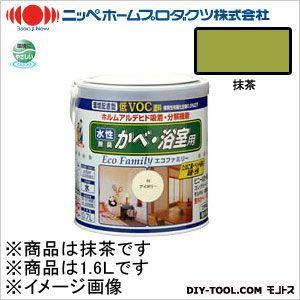 水性エコファミリー 抹茶 1.6L 16