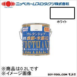 ニッペホーム 油性ウレタントップ ホワイト 0.2L 01