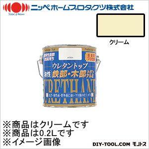 ニッペホーム 油性ウレタントップ クリーム 0.2L 05