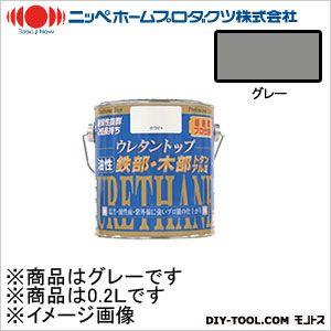 ニッペホーム 油性ウレタントップ グレー 0.2L 07