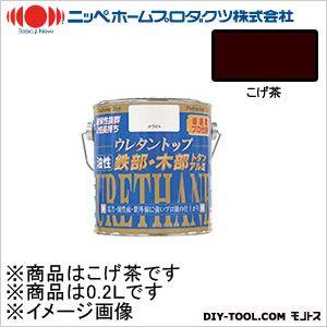 ニッペホーム 油性ウレタントップ こげ茶 0.2L 16