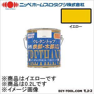ニッペホーム 油性ウレタントップ イエロー 0.2L 18