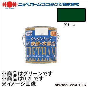 ニッペホーム 油性ウレタントップ グリーン 0.2L 23