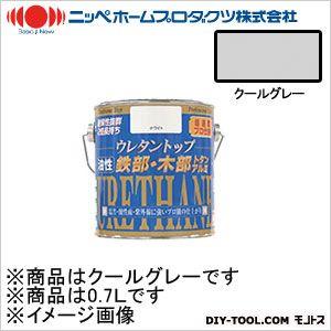 ニッペホーム 油性ウレタントップ クールグレー 0.7L 06