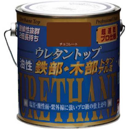 ニッペホーム 油性ウレタントップ チョコレート 0.7L 15