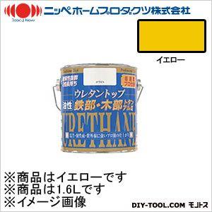 ニッペホーム 油性ウレタントップ イエロー 1.6L 18