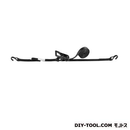 OH ラッシングベルト ブラック 幅×高さ:25×1.8mm LBR100WBK DCF5-40DCF