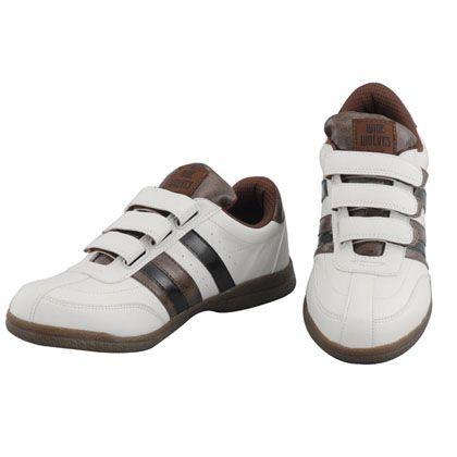 安全靴 WIDE WOLVES ターンベントベルクロ(マジック)タイプ ホワイト 27.5cm WW-331M