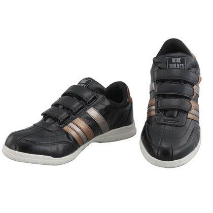 安全靴 WIDE WOLVES ターンベントベルクロ(マジック)タイプ ブラック 23.0cm (WW-332M)