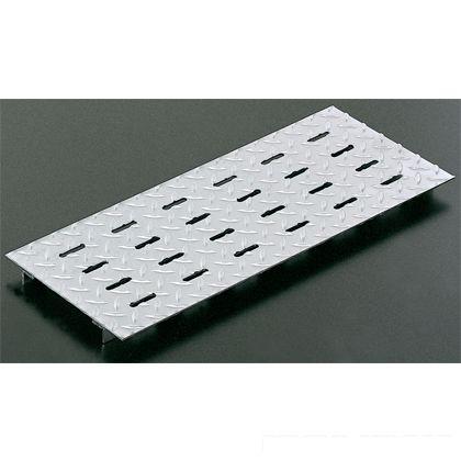 ステンレス製 排水用みぞ蓋(ズレ止め付き)ヘアライン加工 溝幅90用  W80×L500×t3(mm) JSPE-3-9