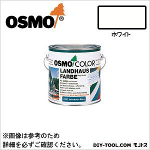 オスモカラー カントリーカラー オパーク仕上げ(塗りつぶし) ホワイト 2.5L 2101