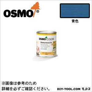 オスモカラーウッドワックスオパーク日本の色3分艶あり 青色 0.75L 3152