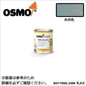 オスモカラーウッドワックスオパーク日本の色3分艶あり 氷河色 0.75L 3173