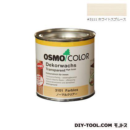 オスモカラー ウッドワックス ホワイトスプルース 0.375L 3111