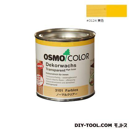 オスモカラー ウッドワックスオパーク 日本の色 黄色 0.375L 3124
