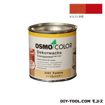 オスモカラー ウッドワックスオパーク 日本の色 赤色 0.375L 3133