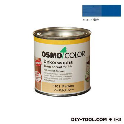オスモカラー ウッドワックスオパーク 日本の色 青色 0.375L 3152