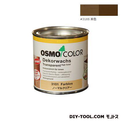 オスモカラー ウッドワックスオパーク 日本の色 茶色 0.375L 3165
