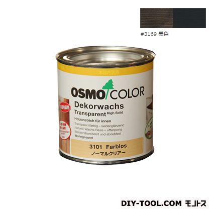 オスモカラー ウッドワックスオパーク 日本の色 黒色 0.375L 3169