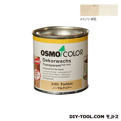 オスモカラー ウッドワックスオパーク 日本の色 絹色 0.375L 3172