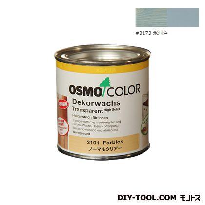 オスモカラーウッドワックスオパーク日本の色 氷河色 0.375L 3173
