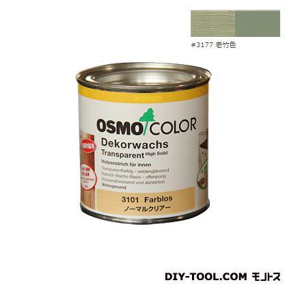 オスモカラー ウッドワックスオパーク 日本の色 老竹色 0.375L 3177