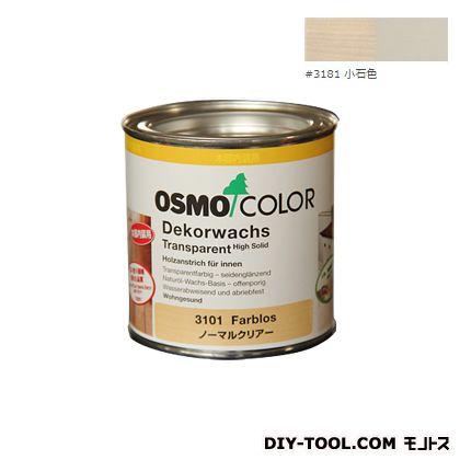 オスモカラー ウッドワックスオパーク 日本の色 小石色 0.375L 3181