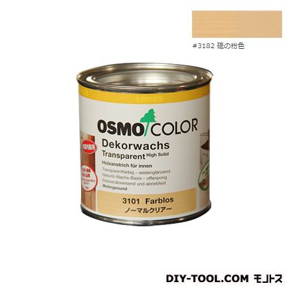 オスモカラー ウッドワックスオパーク 日本の色 砥の粉色 0.375L 3182