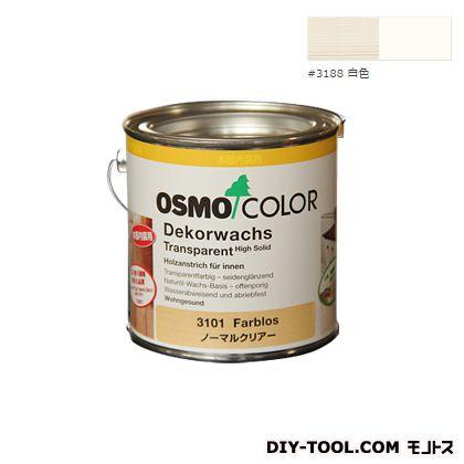 オスモカラー ウッドワックスオパーク 日本の色 白色 0.375L 3188