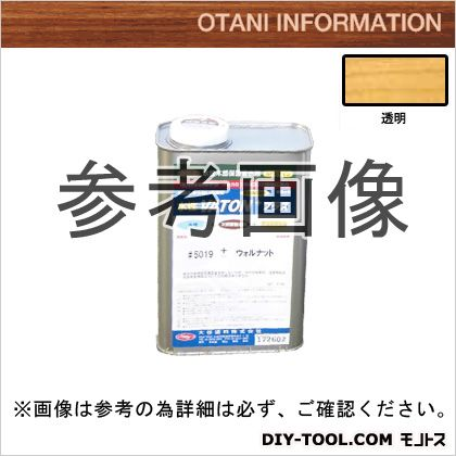 大谷塗料 水性VATON/自然系水性木部用浸透型着色剤+(プラス) 透明 0.8kg #5001+