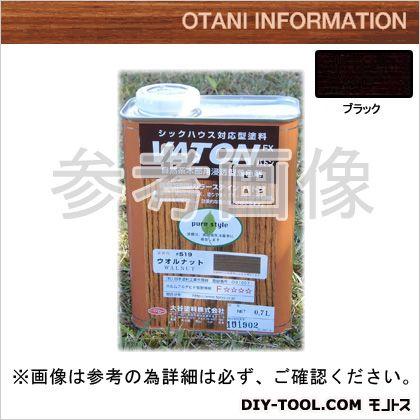 大谷塗料 VATONFX/自然系木部用浸透型着色剤 ブラック 0.7L #525