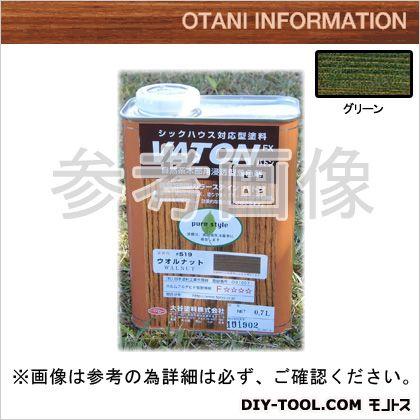 大谷塗料 VATONFX/自然系木部用浸透型着色剤 グリーン 0.7L #527