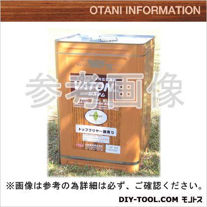 大谷塗料 VATONFXトップクリヤ/自然系木部用浸透型着色剤(艶有り)  4L