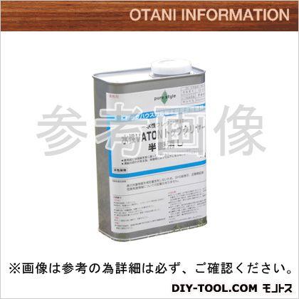大谷塗料 水性VATON-FXトップクリヤ/自然系水性木部用浸透型着色剤(全艶消し)  1L