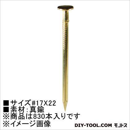 真鍮釘 ヒラ  17×22 250g HP-456 830 本