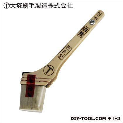 マルテー 白熊 厚口改良型 筋違 白 20号  D30×W76×H236(mm)   本