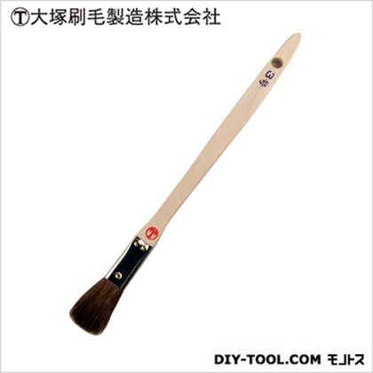 シマ毛金巻 平 茶 3号  D6×W20×H190(mm)   本