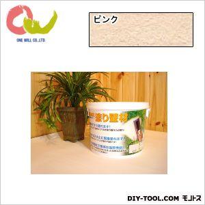 漆喰珪藻土 ケイソウくんMIXグレード 練り置きタイプ  ピンク 5kg