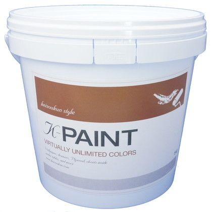 K-PAINT 珪藻土塗料 ホワイトグレー 5kg