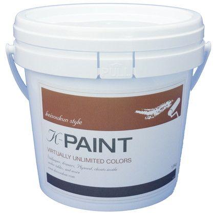 K-PAINT 珪藻土塗料 オフブラック 1.5kg
